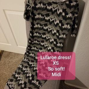Lularoe prin midi dress - soft!